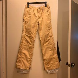 Burton Gold snow pants